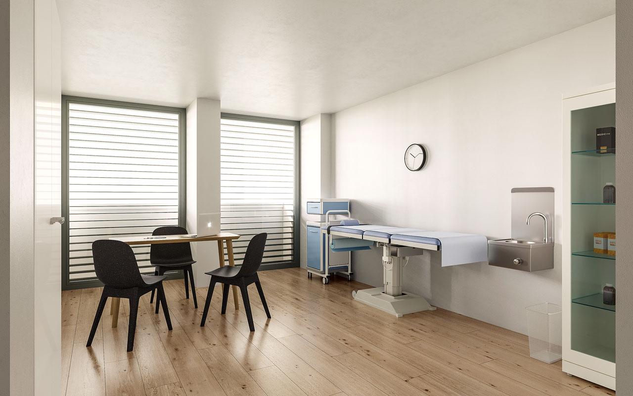 Salle de soins paramédicaux du Pôle Santé Kiné Lyon Vaise