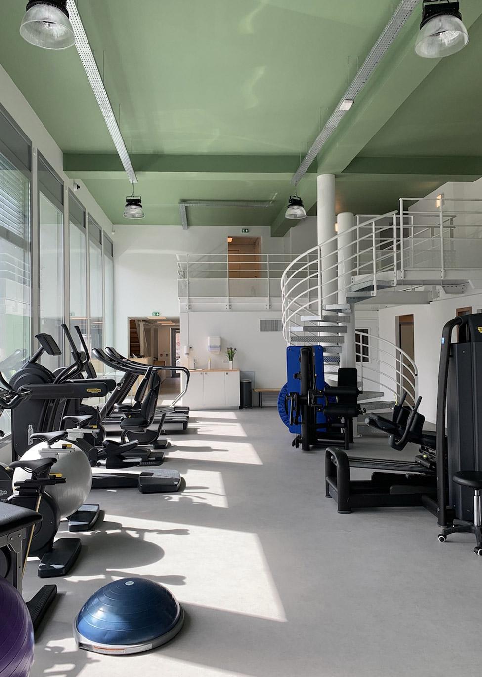Salle de sport du Pôle Santé Kiné Sport à Lyon Vaise