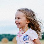 Enfant qui coure